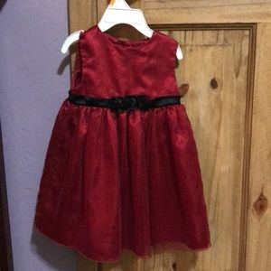 Sparkly red party dress